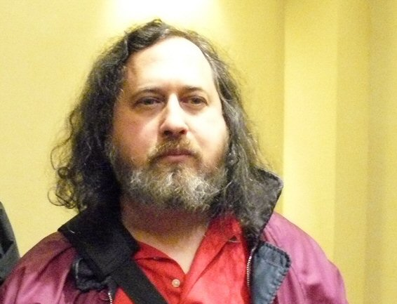 Richard Stallman in 2008